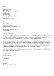 Cover Letter Design Faculty Cover Letter For Assistant Professor