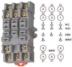 how to wire pin timers 11 Pin Octal Relay Wiring Diagram larger image, 10 pin timer typical manual 8 Pin Relay Base Schematic