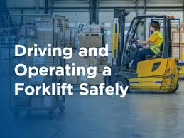Recharge Your Forklift Driving Practices Insights Newsletters