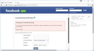 To Facebook's Trick Uses Users Phishing Fool Website