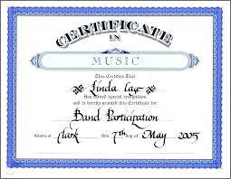 Printable Awards Templates Music Award Certificate Template Word Free Printable