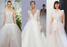 نتيجة بحث الصور عن تصميمات فساتين زفاف 2019/2020