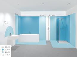 bathroom lighting zones. safety zones electricity bathroom lighting