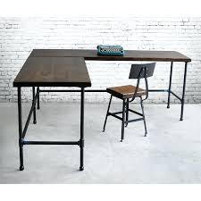 l shaped reclaimed wood desk modern office furniture urban wood excellent l shaped reclaimed wood desk