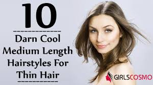 How To Make Cool Hairstyle 10 darn cool medium length hairstyles for thin hair gilscosmo 7144 by stevesalt.us