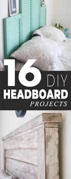16 diy headboard projects