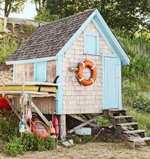 turning a garden shed into a coastal