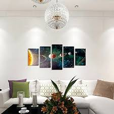 planets solar system galaxy universe wall art painting modern home shop home decor wall art contemporary on home decor wall art uk with planets solar system galaxy universe wall art painting modern home