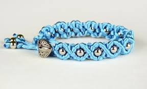 Macrame Bracelet Patterns Beauteous DIY Easy Wave Bracelet