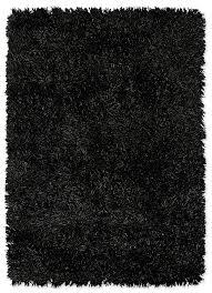 flat polyester black