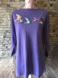 Beautiful Sweater Bob Mackie Wearable Art Size Medium See