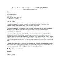 Applying For An Internship Cover Letter Cover Letter For Internships