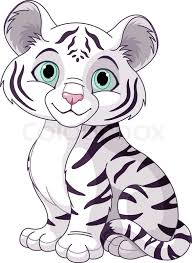 baby tiger clipart black and white. Simple Tiger In Baby Tiger Clipart Black And White E