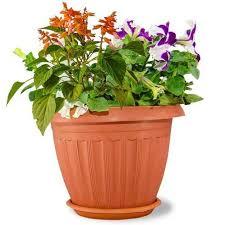 Round Neck Flower Pot