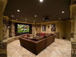 lighting ideas ceiling basement media room. My Husband Will Def Have A Man Cave He Needs It Lol For Durable Custom Designed To Your Taste Sensibly Chic Designs Life Lighting Ideas Ceiling Basement Media Room