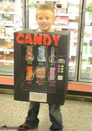 Vending Machine Halloween Costume Unique Candy Vending Machine DIY Halloween Costume
