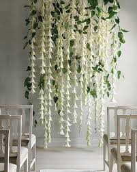 Hanging Paper Flower Backdrop Top Wedding Decor Ideas For Your Wedding Reception Trending In 2018