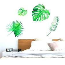 tropical wall stickers decals info art uk