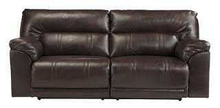 Ideas 2 Seat Leather Power Reclining Sofa By Ashley Furniture