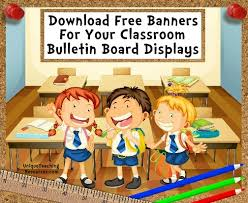 Free Bulletin Board Display Banners Download Free Banners For Your