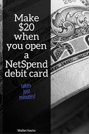 free 20 bucks turn 40 into 60 in thirty seconds netspend 20 referral