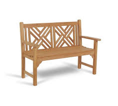bench madagascar 120cm whole teak outdoor furniture sydney australia