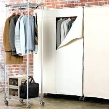short clothing rack wardrobe racks garment closet portable closet stainless steel wire clothes rack with short