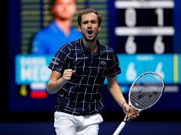 Итоговый чемпионат ATP: Даниил Медведев впервые победил Рафаэля Надаля и  пробился в финал - Чемпионат
