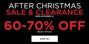 Kohl's After Christmas Clearance Sale - Prices Starting at $2.10 ...