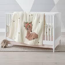 little fawn crib bedding