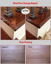 wood floor repairs deep cleaning