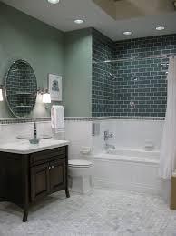spare bathroom reveal carrara marble subway tile bathroom