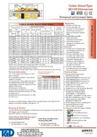 Link Seal Chart Copper Zv
