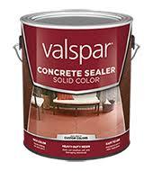 Valspar Sandstone Color Chart Valspar Solid Color Concrete Sealer