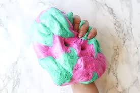 picture of how to make fluffy slime