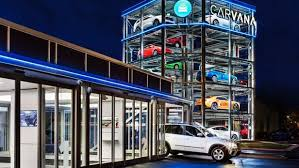 Car Vending Machine Phoenix New Carvana Opens Giant Fivestory Vending Machine For Used Cars