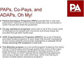aids istance programs adaps are a set of federaland state funded programs