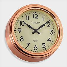 kitchen wall decor bed bath and beyond wonderfully small copper kitchen wall clock bed bath