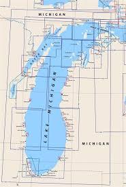 Little Bay De Noc Depth Chart Themapstore Lake Michigan