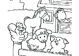 Free Printable Farm Animals Colouring Pages Printable Farm Animals