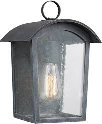 feiss ol13300ablk hodges vintage ash black outdoor wall lighting sconce loading zoom