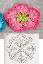 Crochet Flower Pattern Interesting Fan Petal Crochet Flower Pattern ⋆ Crochet Kingdom