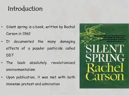 silent spring environment 2 bull silent spring