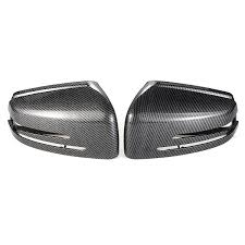 W212 Parking Light Replacement 2pcs Car Carbon Fiber Rearview Mirror Cover Caps For Mercedes Benz W204 X204 W212 W221 C300 C218