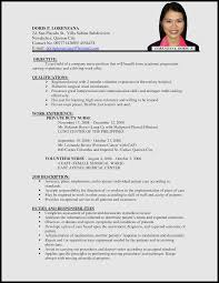 Sample Resume for Nurses Applying Abroad Pdf