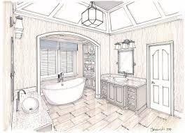 bathroom interior design sketches. Bathroom Renovation Atlanta Interior Designer With Best Design Sketches U