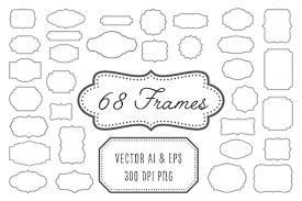 vintage frame design png. Vintage Frames, Labels, Badges Example Image Frame Design Png M