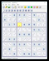 Sudoku Puzzel Solver Simple Sudoku Freeware Puzzle Maker And Solver