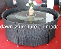 outdoor wicker table and chairs for decoration china round outdoor table chairs cen