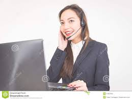 asian employer working at customer service stock photo image asian employer working at customer service